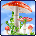 Mushroom HD Live Wallpaper icon