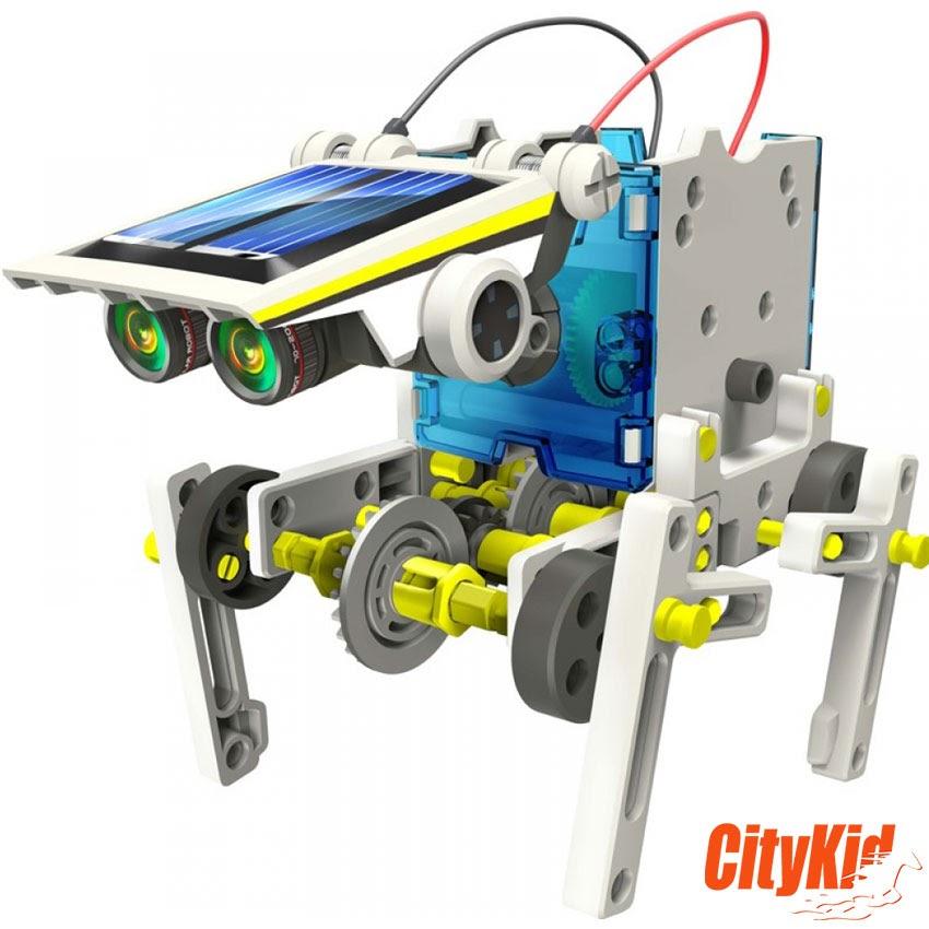 Đồ chơi lắp ráp robot năng lượng mặt trời