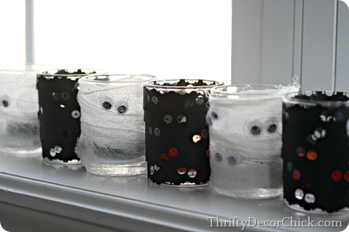 Halloween votive craft