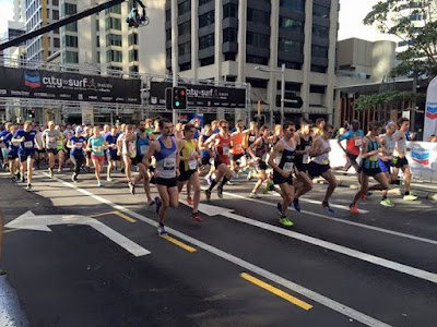 We are underway at the 12km Best of luck to everybody out
