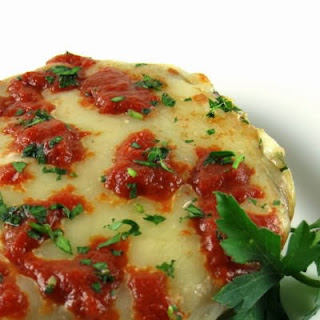 Baked Portobello Parmesan - A Dieter's Delight - Foodie Friday