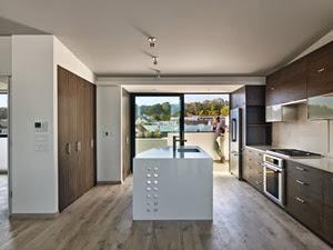 cocina-minimalista-arquitectura-Casa 300 Cornwall