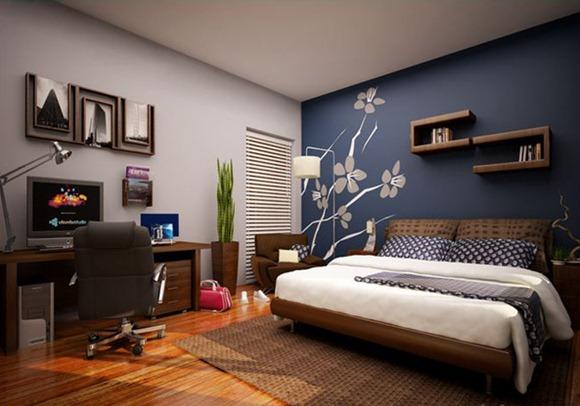 15 Modelos de dormitorios en tonos color azul - iDecorar