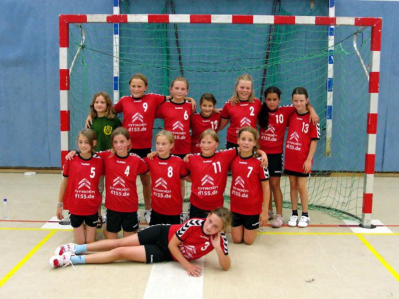 Regionsmeister 2011/2012: Weibliche E-Jugend der HSG Badenstedt