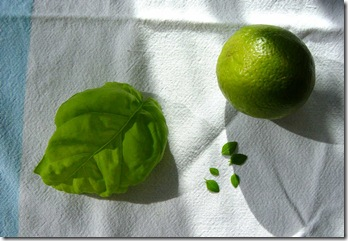 Lime and Basil