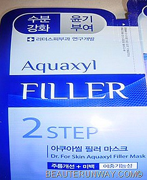 Leader's Clinic 2step Mask Aquaxyl Filler