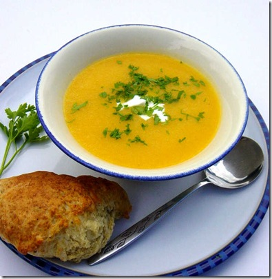 Smoked Garlic Soup