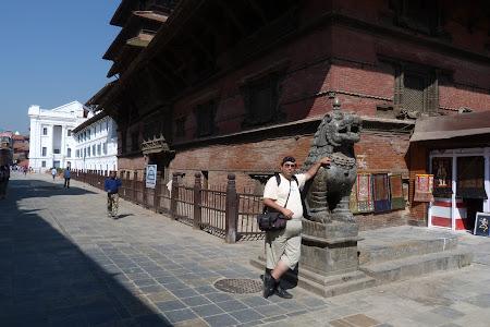 Imagini Kathmandu: spre Durbar Square