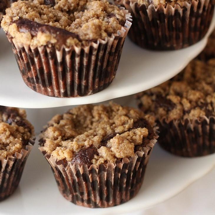 Chocolate Crumb Topped Cupcakes Recipe