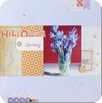 11-cafe-creativo - big shot- scrapbooking - pagina scrap layout spring