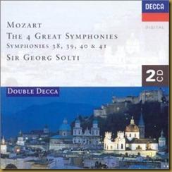 Mozart sinfonias Solti
