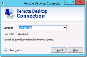 The Microsoft Platform: RD Connection Broker HA and the RDP