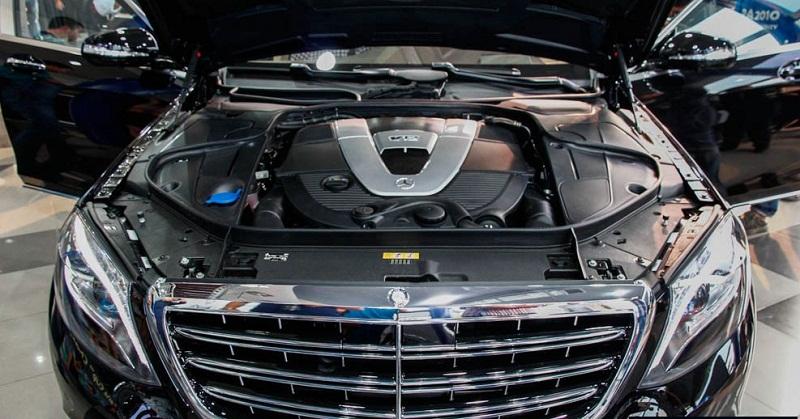 Xe Mercedes Benz S600 MAYBACH màu đen 028
