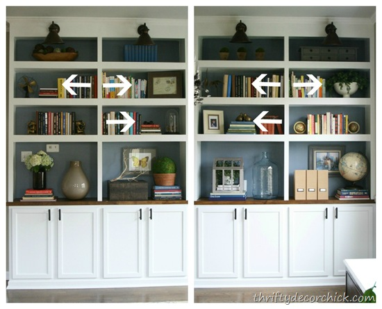 tips on how to decorate bookshelves