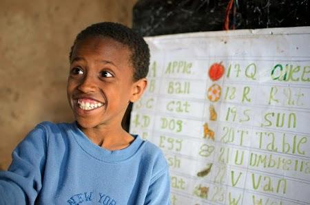 Trekking Muntii Simien - Etiopia: Un adevarat prieten zambitor din Mekarabya