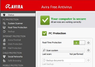 Avira Antivirus 2013 Free Download