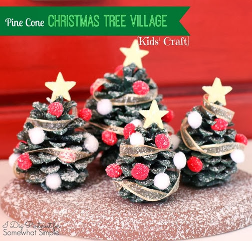 Christmas Tree Village1