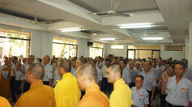 DSC06344 Lễ Hiệp kỵ   Lễ Huý Nhật Cư sĩ Sáng lập viên GĐPT Việt Nam   Tâm Minh Lê Đình Thám