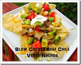 chile verde nachos