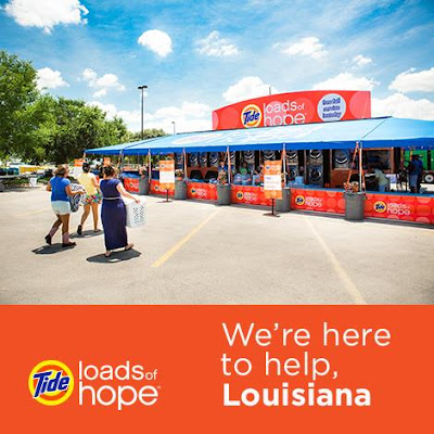 Our Tide LoadsofHope extended capacity semitruck is at Sams Club 201 Bass