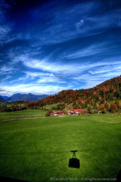 Mountains south of Munich