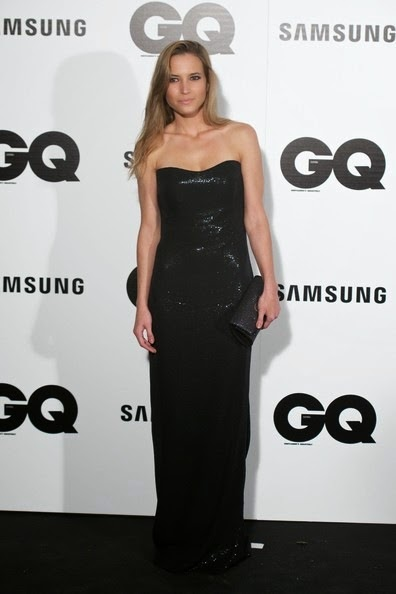 Ana Fernandez attends the GQ 2014 Men of the Year awards