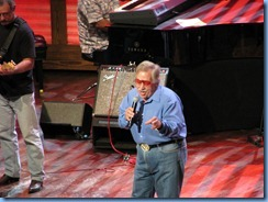 9907 Nashville, Tennessee - Grand Ole Opry radio show - John Conlee singing his signature song Rose Colored Glasses