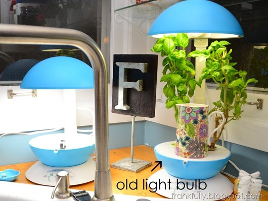 old Aerogarden light