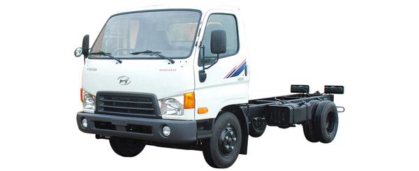 Hyundai 2,5 tấn HD65 satxi