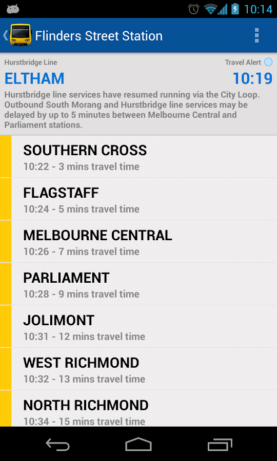 Melbourne Train Trapper- screenshot