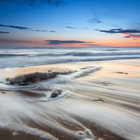 Coast Rocks @ Audresselles by Steve De Waele - Landscapes Waterscapes