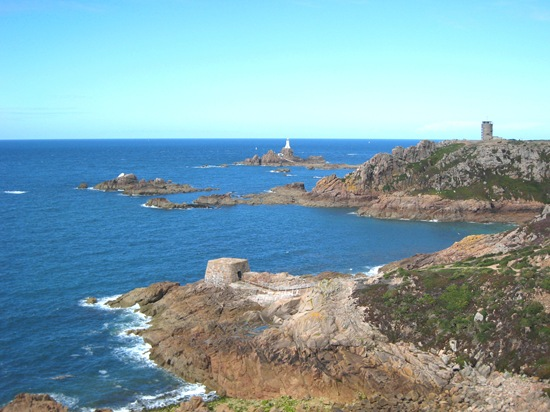 The Channel Island Way, La Corbiere