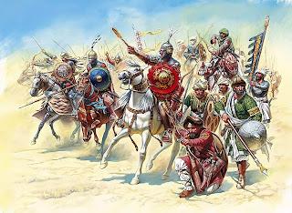 26.000 quân Saracen hùng hổ tiến về Jerusalem.