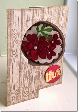 thinlit card flower shop stampin up