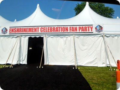enshrinement tent