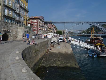 Promenada pe malul raului Douro