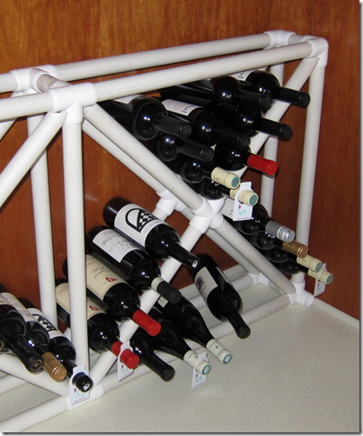 Wine Rack Plans From Pvc Pdf Woodworking