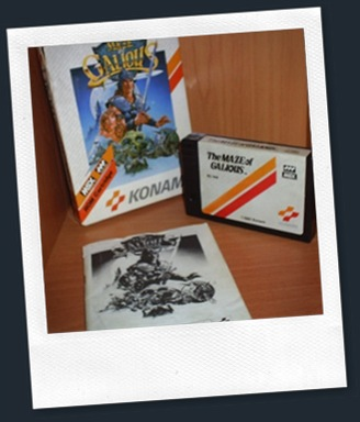 Maze of Galious MSX completo