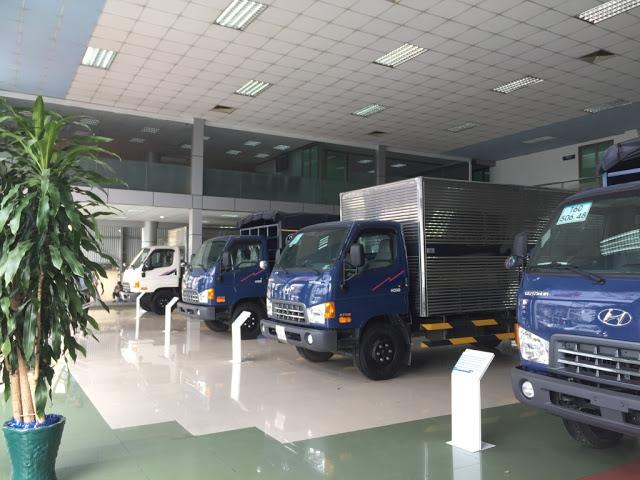 Đại lý xe tải Hyundai tại Long An