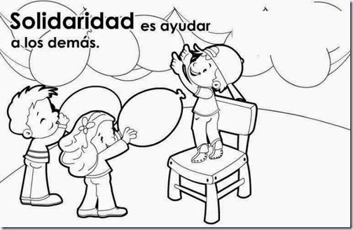 Valor De La Amistad Dibujalia Dibujos Para Colorear Classycloudco