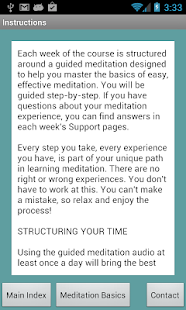 Learn to Meditate 5 Wk Course- screenshot thumbnail