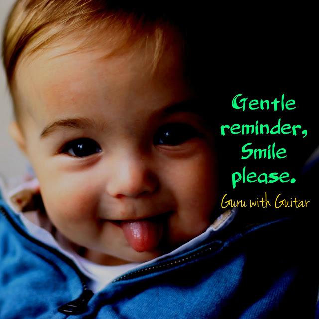 gentle_reminder_smile_please_quote_vikrmn_guru_with_guitar_gwg_novel_chartered_accountant_ca_author_srishti_vikram_verma