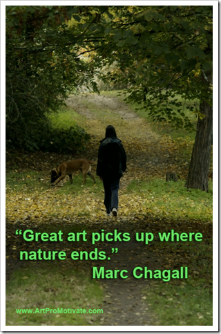 marc chagall quote