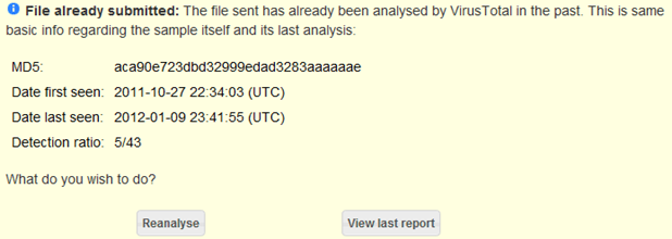 VirusTotal-file-report