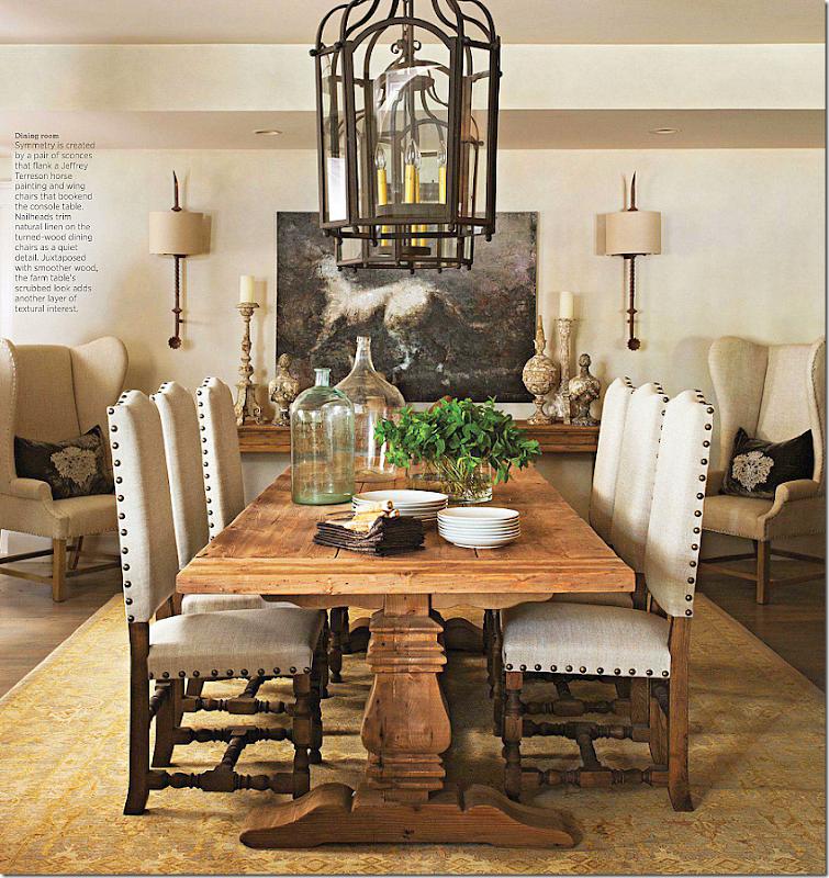 You Will Notice That While The Chairs Are Pretty And Table Is Wonderful All From Restoration Hardware