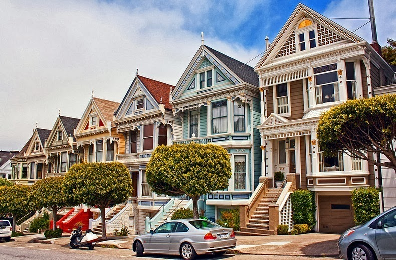 the painted ladies of san francisco amusing planet. Black Bedroom Furniture Sets. Home Design Ideas