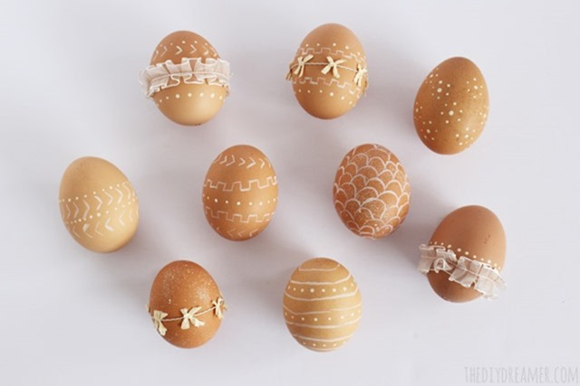 Ribbon-and-Paint-Eggs