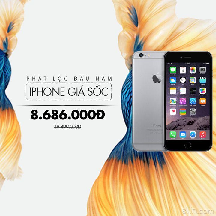 Ai sẽ là người sở hữu chiếc Iphone 6+ sang chảnh với giá 8,686,000đ?