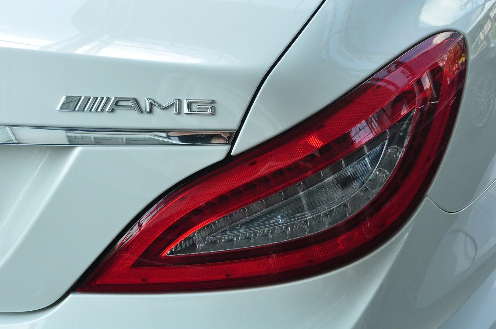 Xe Mercedes Benz CLS350 New Model màu trắng 09