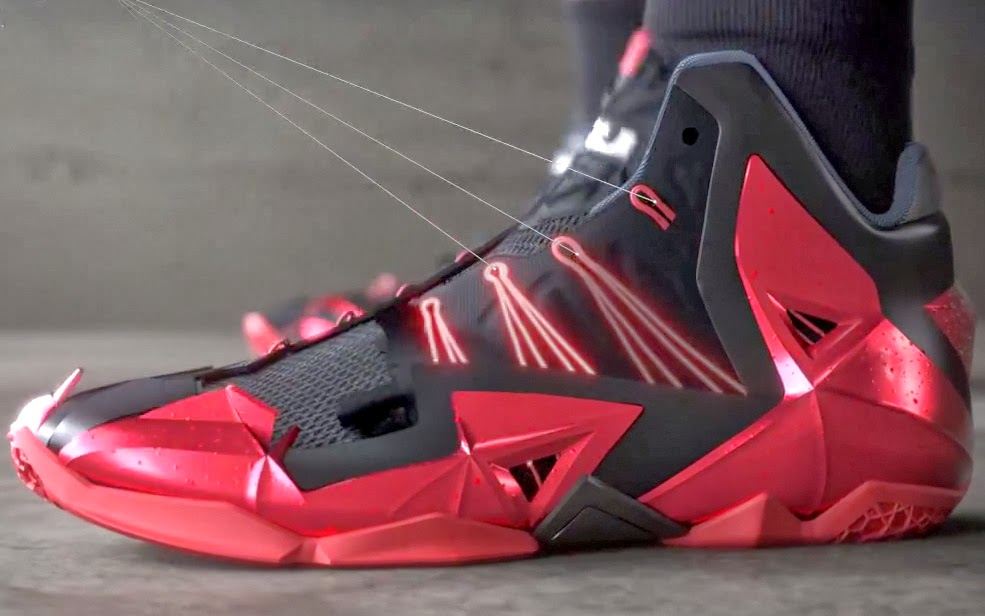 69c6b4dccaf0 ... James Gears Up with LeBron 11 Away in Nike Basketball Video ...